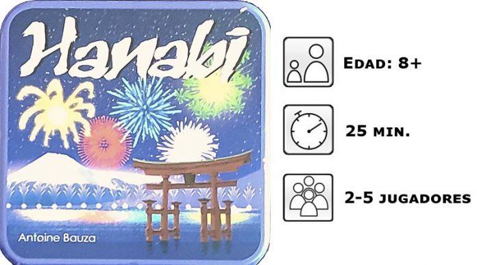 Información del juego de mesa Hanabi