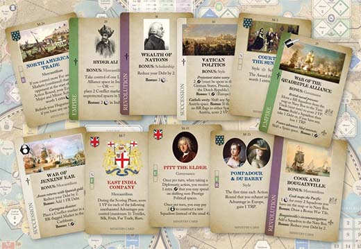 Cartas de Imperial Struggle