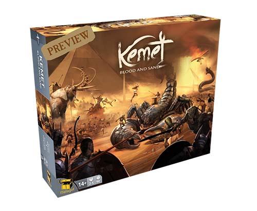 Portada de Kemet Blood and sand