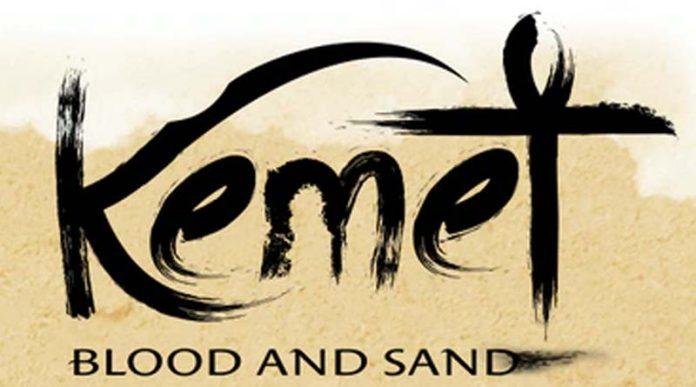 Logotipo de Kemet Blood and Sand