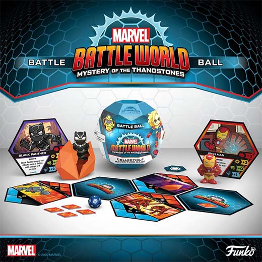 Componentes de Marvel Battleworld: Mystery of the Thanostones