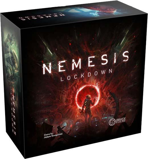 Portada de Nemesis Lockdown