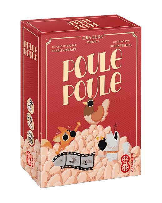 Caja del juego de mesa Poule Poule