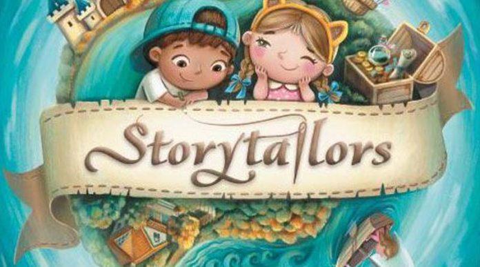 Logotipo del juego de mesa Storytailors