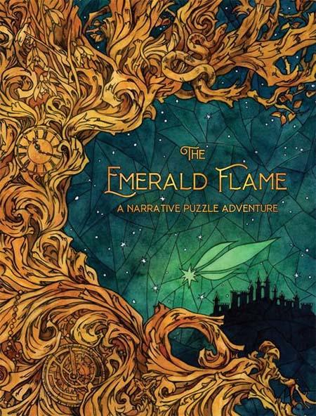 Portada del juego de mesa The Emerald Flame