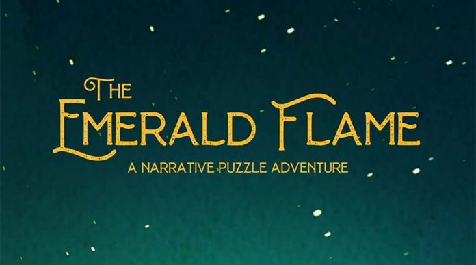 Logotipo de The Emerald Flame