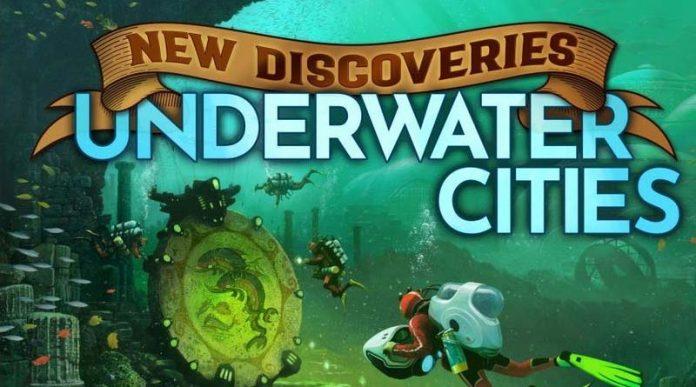 Portada de Underwater Cities New Discoveries