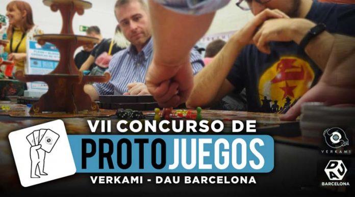 Séptimo concurso de protojuegos Verkami Dau Barcelona