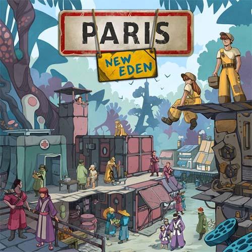 Portada del juego de tablero Paris New Eden