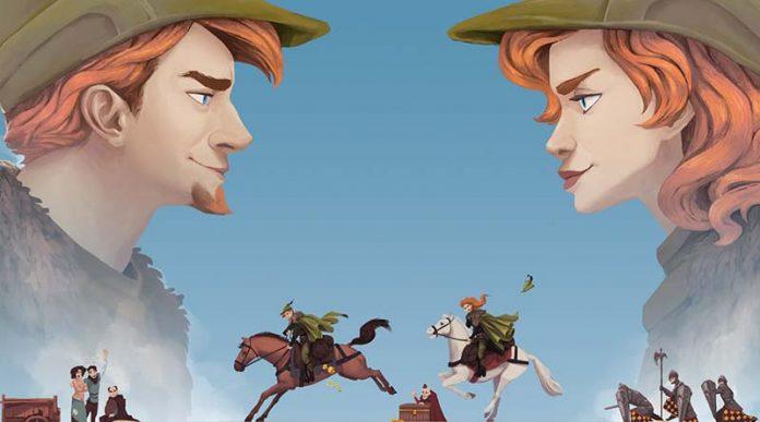 Arte de la portada de Robin de Locksley