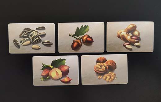 Roedores, cartas de semilla