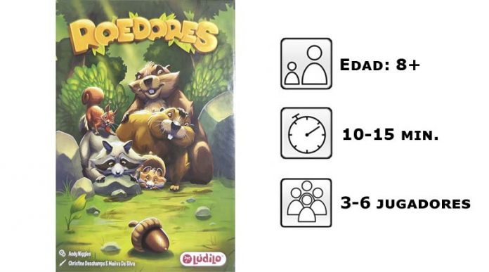 Datos del juego de mesa Roedores
