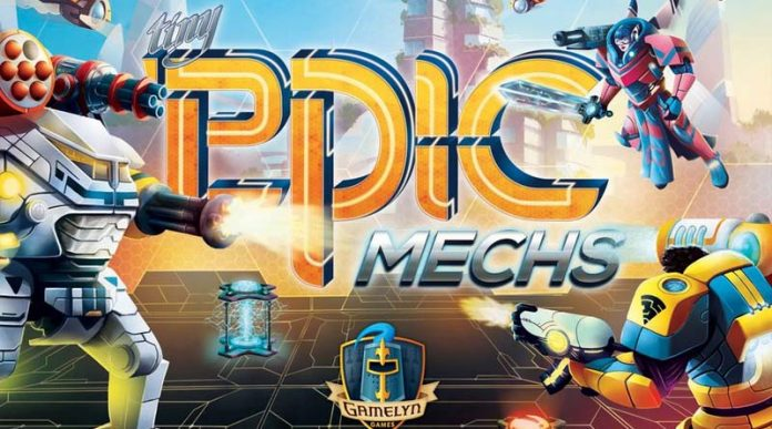 Portada de de Tiny Epic Mechs
