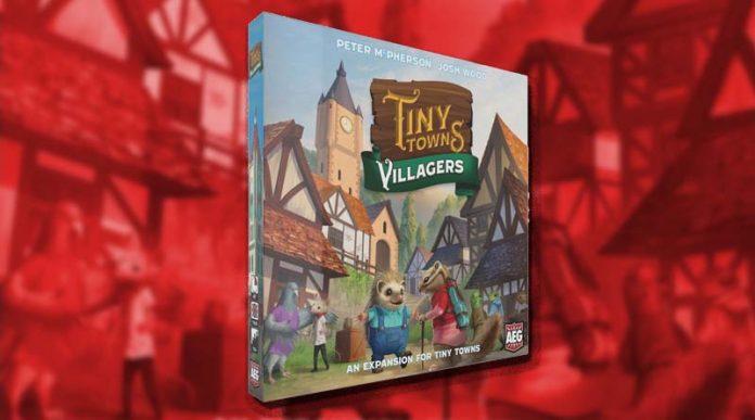 Portada del juego de mesa Tiny Towns Villagers