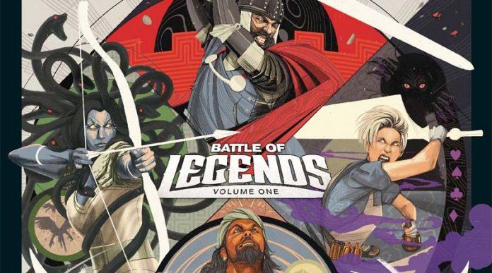 Portada de Unmatched Legends Vol 01