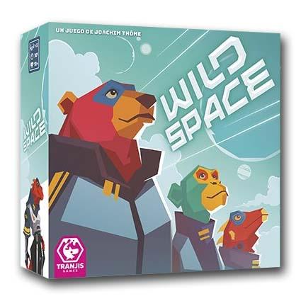 Portada del juego de mesa Wild Space