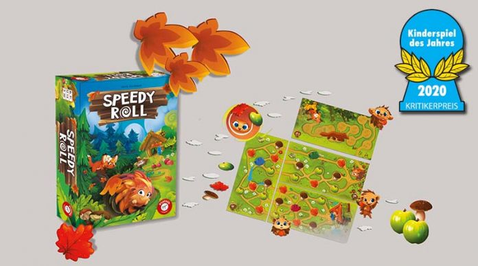 Speedy Roll Ganador del Kinderspiel des Jahres 2020