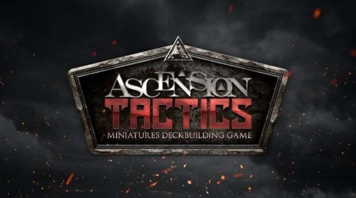 Logotipo del juego de mesa Ascension Tactics