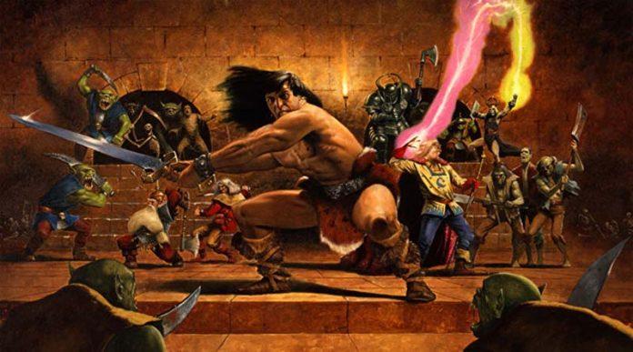 Arte de la portada de Heroquest