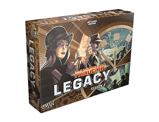Caja de Pandemic Legacy Season 3 Temporada 0