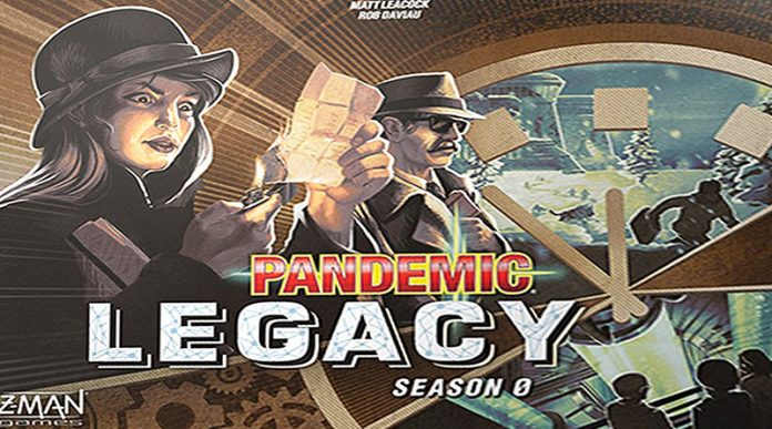 Portada de Pandemic Legacy season 3 temporada 0