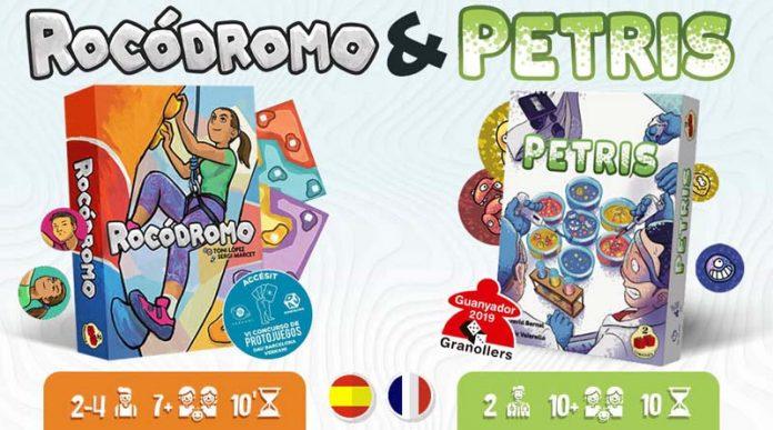 Imagen de la campaña de Verkami de Rocodromo y Petris