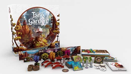 Componentes de Tang garden