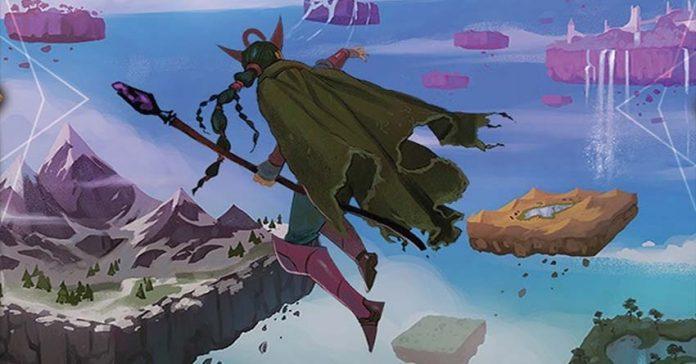 Arte de la portada de The Cursed Hoard expansión para Fantasy Realms