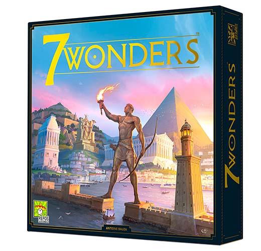 Portada de 7 wonders segunda edición