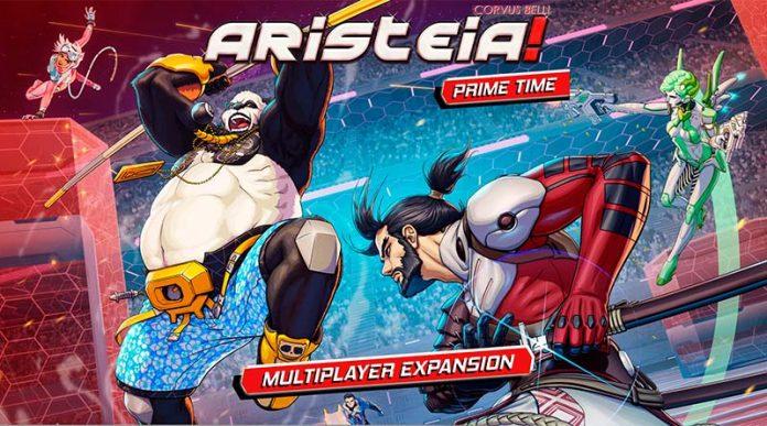 Arte de la portada de aristeia prime time