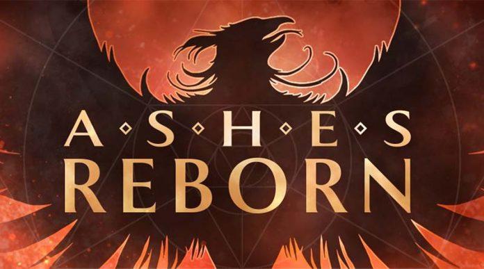 Logotipo de Ashes Reborn