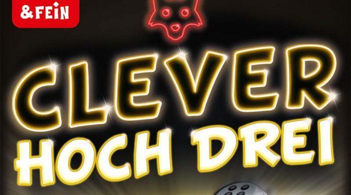 Logotipo de Clever hoch Drei