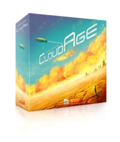Caja del juego de tablero CloudAge