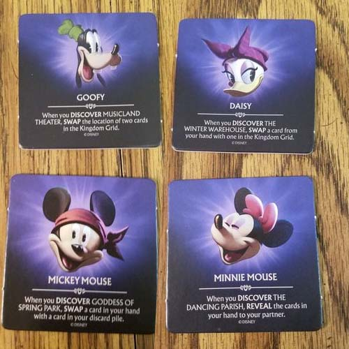 Cartas de DIsney Shadowed Kingdom