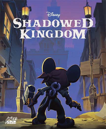 Portada de Disney Shadowed Kingdom