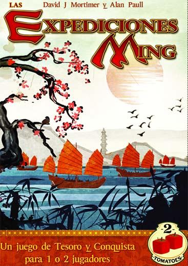 Portada de las expediciones Ming