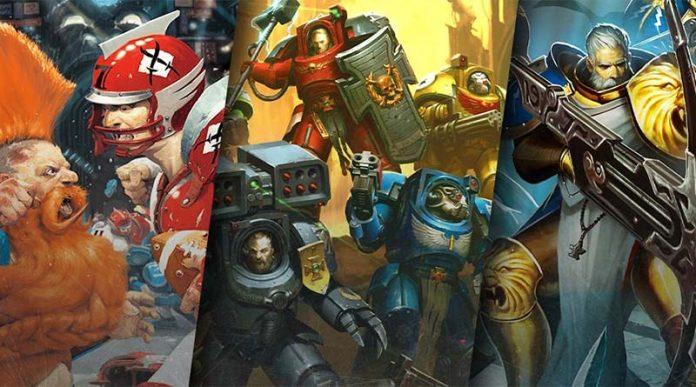 Los tres juegos de mesas que Games Workshop publicará en 2020