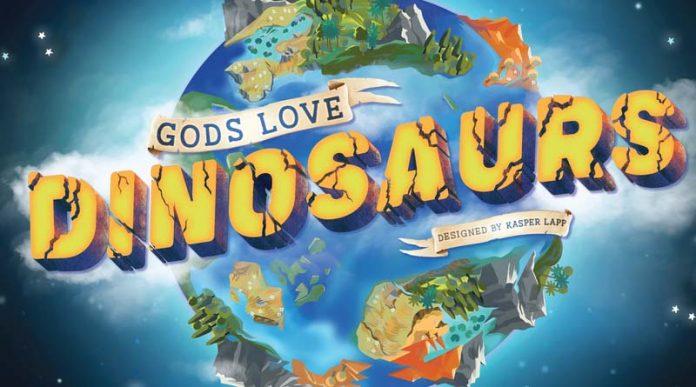 Logotipo de gods love dinosaurs