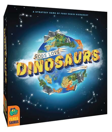 Portada de gods love dinosaurs