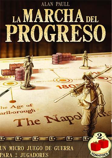Portada del juego de tablero La marcha del progreso