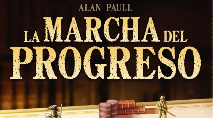 Logotipo del juego de mesa La marcha del progreso