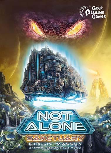 Portada de Not Alone Sanctuary