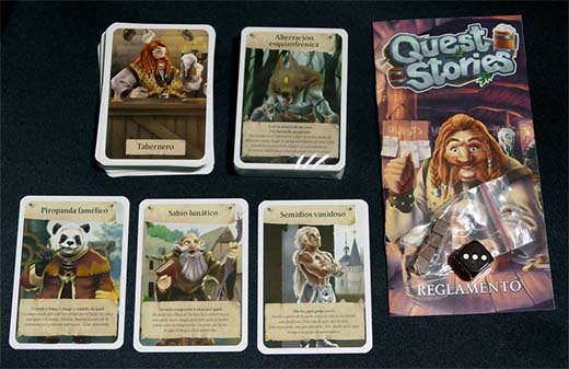 Componentes de Quest Stories