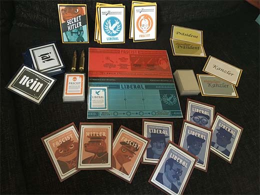 Versión Print and Play de Secret Hitler