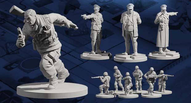Miniaturas de Sniper Elite the Board Game