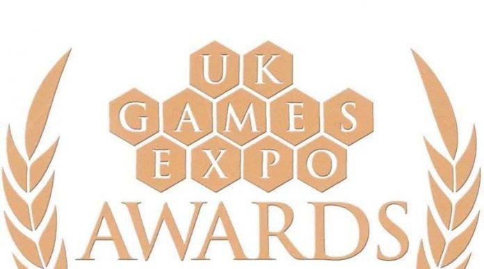 Logotipo de los UK Games Expo Awards 2020