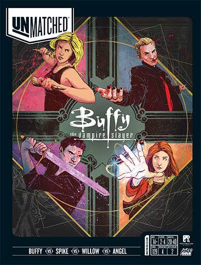 Portada de Unmatched Buffy the Vampire Slayer