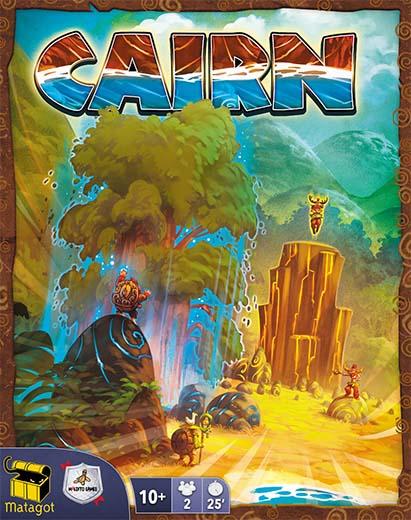 Portada de Cairn
