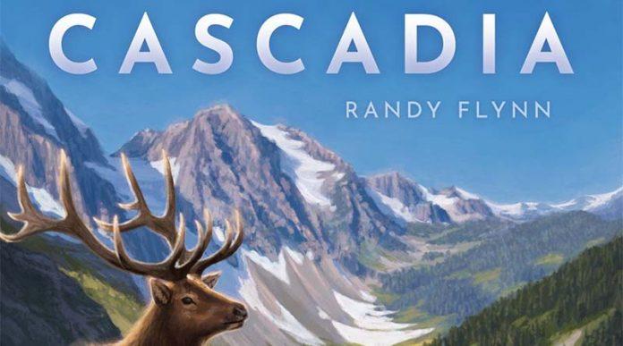 Logotipo del juego de mesa Cascadia