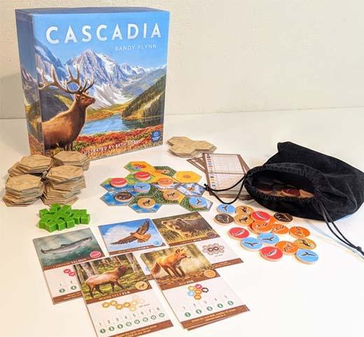 Componentes del prototipo de Csacadia
